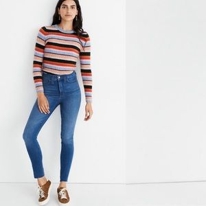 Madewell Roadtripper Frayed Ankle Jeans 25